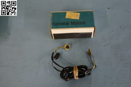 1977-1982 Corvette C3 Lock Cylinder Alarm On/Off Switch & Harness, New, Box B